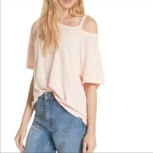 Free People Cute Oversized T-shirt